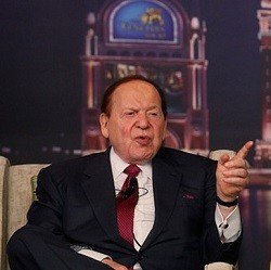 Adelson Wants Financial Power and Results