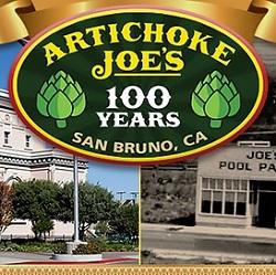 A view of Artichoke Joes in San Bruno, California.