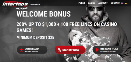 Intertops Poker Bonus