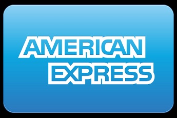 The American Express logo.
