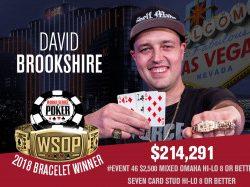 Brandon Shack-Harris Leads WSOP $10k PLO Final – David Brookshire Wins Mixed O8-Stud8