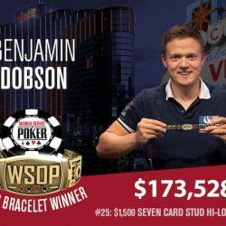 Benjamin Dobson and Filippe Stavrakis Win WSOP Gold