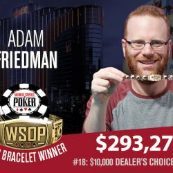 Dimov, Friedman, and Varnell Take WSOP Gold on Sunday