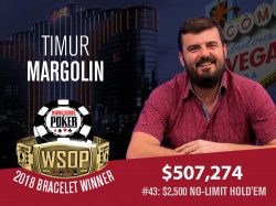 Timur Margolin Stops Chris Ferguson in $2,500 NL – Nicholas Seiken Wins 2-7 Lowball Title