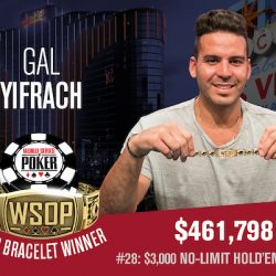 Yifrach, Albini and Bambrick Win First WSOP Bracelets