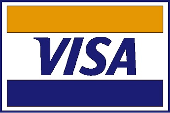 The official Visa logo