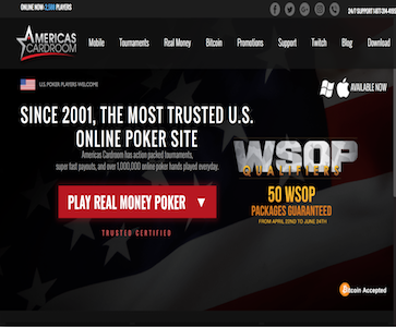Americas Cardroom Screenshot