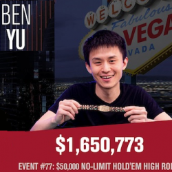 Ben Yu and Brian Hastings Win WSOP Bracelets
