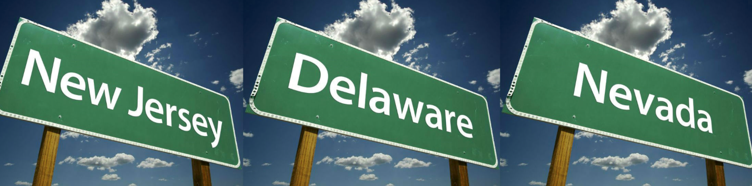 Nevada, New Jersey & Delaware Poker