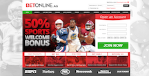 BetOnline Sports Screenshot