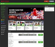 Bovada Sports Screenshot