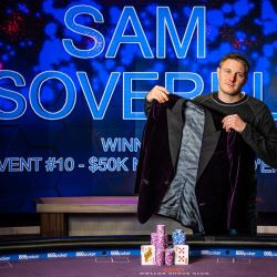 Sam Soverel Wins Poker Masters Purple Jacket