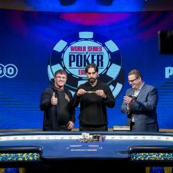 Alexandros Kolonias Wins 2019 WSOP Europe Main Event