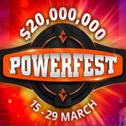 PartyPoker Powerfest in Progress Through March 29