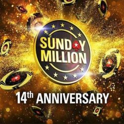 PokerStars Sunday Million Anniversary Awards $18.6M