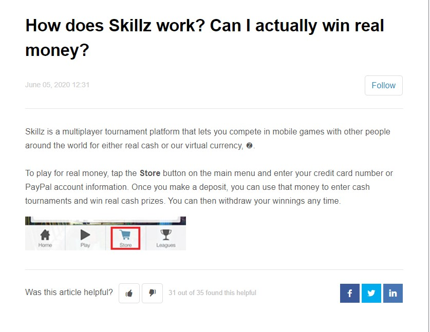 Skillz real-money gaming