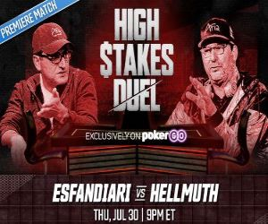 Hellmuth Dominates Esfandiari in High Stakes Duel