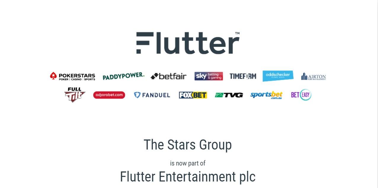 Flutter Entertainment companies