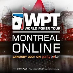 PartyPoker to Host WPT Montreal Online in January 2021