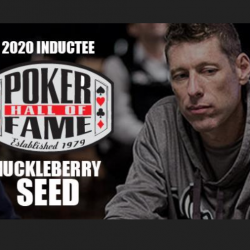 WSOP Poker Hall of Fame Inducts Huckleberry Seed
