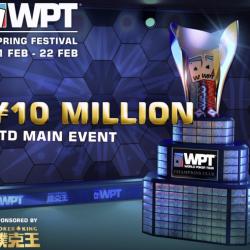 Poker King In Asia To Host Wpt Spring Festival Online