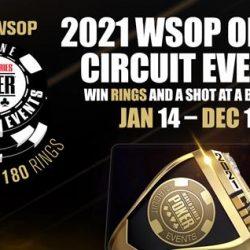 US WSOP Online Circuit Series 2021