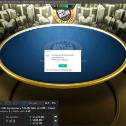 Vanessa Kade Sunday Million win on PokerStars