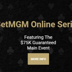 BetMGM to Host Series April 18-25 for Michigan Players