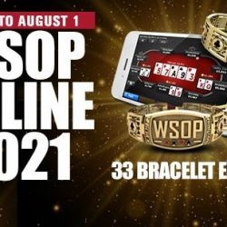 WSOP Releases US Online 2021 Tournament Schedule