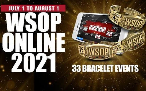 WSOP Releases US Online 2021 Tournament Schedule