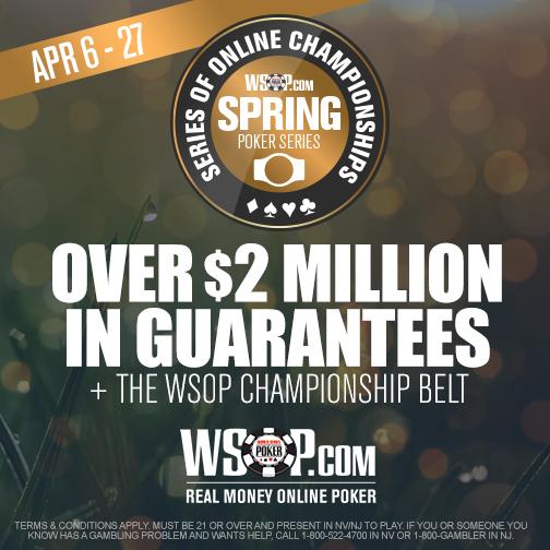 WSOP Starts Spring Online Championships in US
