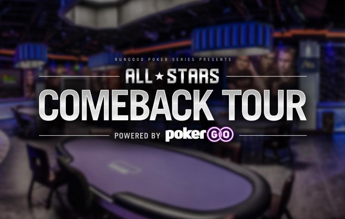 All-Stars Comeback Tour Powered by PokerGO Set to Go